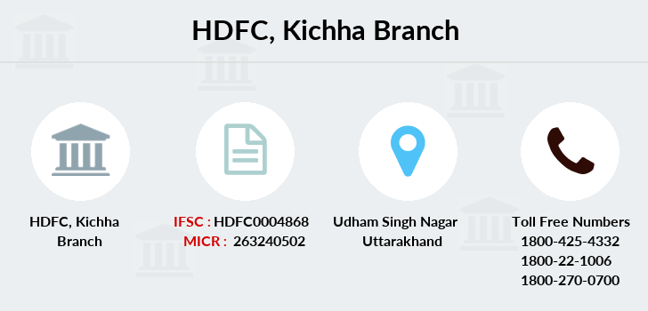 Hdfc-bank Kichha branch