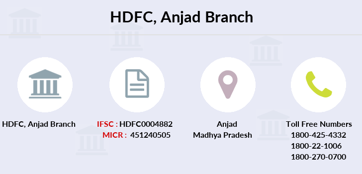 Hdfc-bank Anjad branch