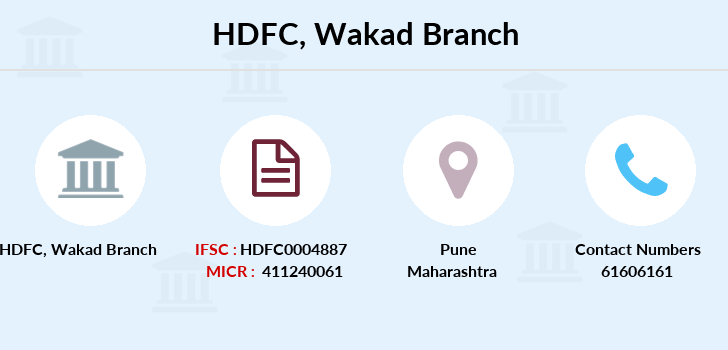 Hdfc-bank Wakad branch