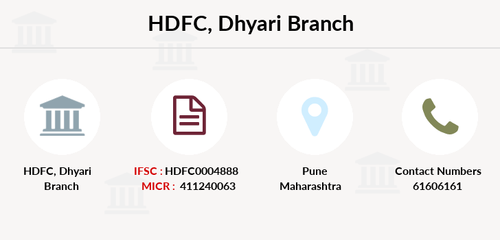 Hdfc-bank Dhyari branch