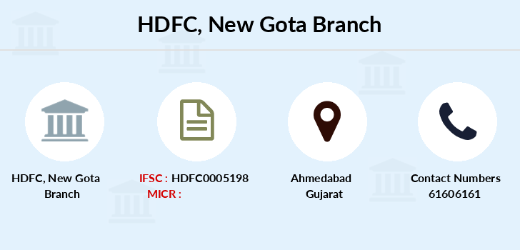 Hdfc-bank New-gota branch