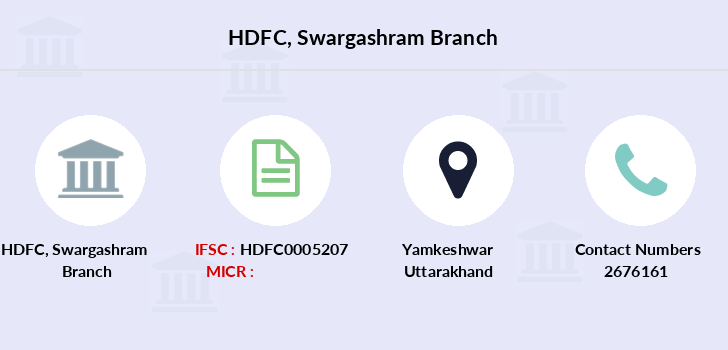 Hdfc-bank Swargashram branch