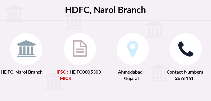 Hdfc-bank Narol branch