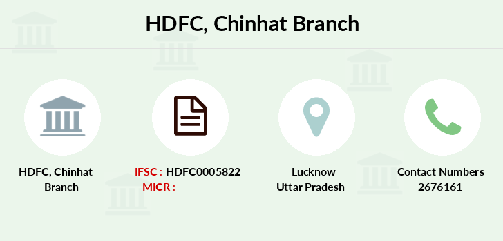 Hdfc-bank Chinhat branch