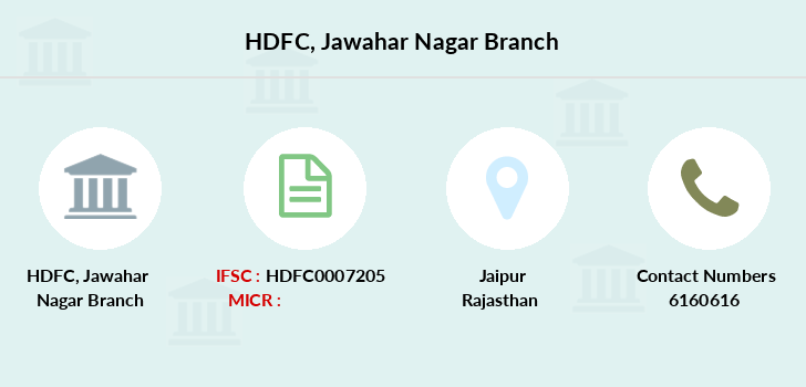 Hdfc-bank Jawahar-nagar branch
