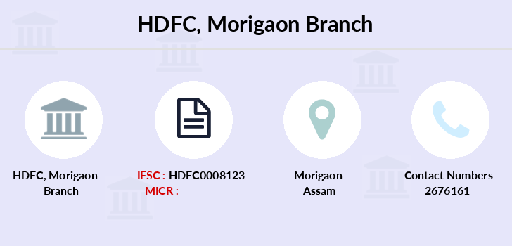 Hdfc-bank Morigaon branch