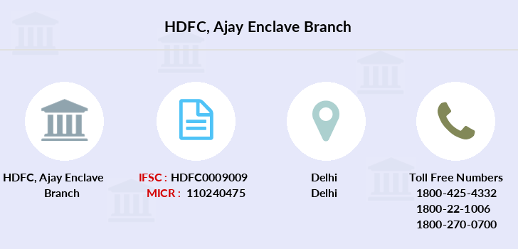 Hdfc-bank Ajay-enclave branch