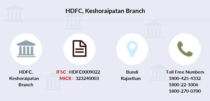 Hdfc-bank Keshoraipatan branch