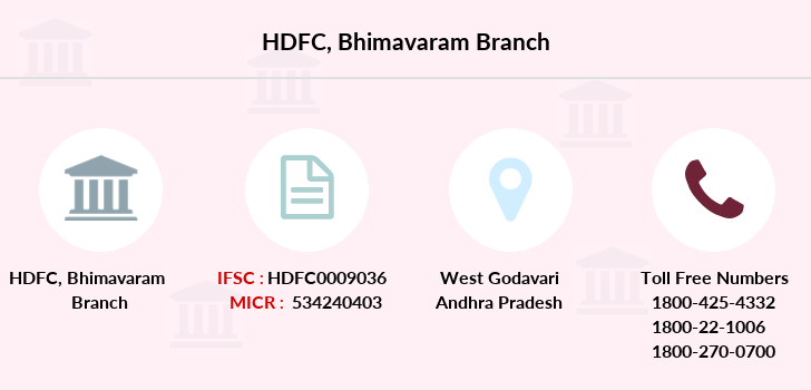 Hdfc-bank Bhimavaram branch