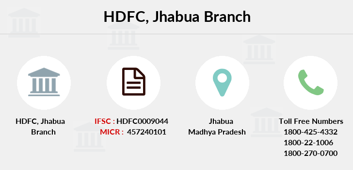 Hdfc-bank Jhabua branch