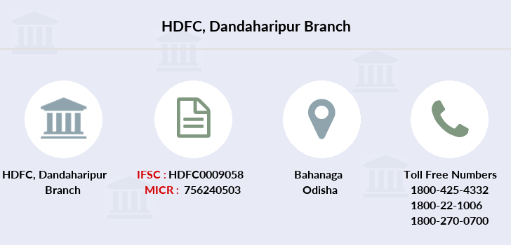 Hdfc-bank Dandaharipur branch