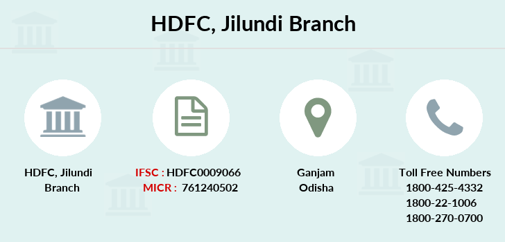 Hdfc-bank Jilundi branch