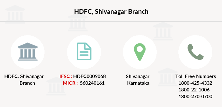 Hdfc-bank Shivanagar branch