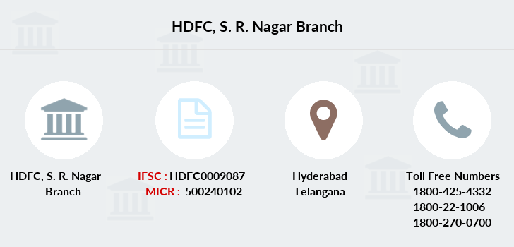 Hdfc-bank S-r-nagar branch