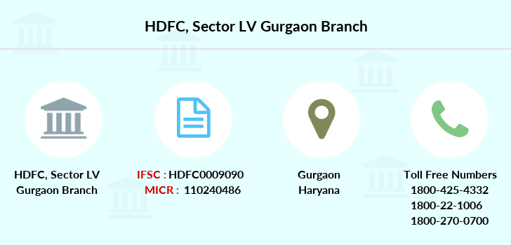 Hdfc-bank Sector-lv-gurgaon branch