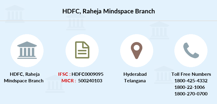 Hdfc-bank Raheja-mindspace branch