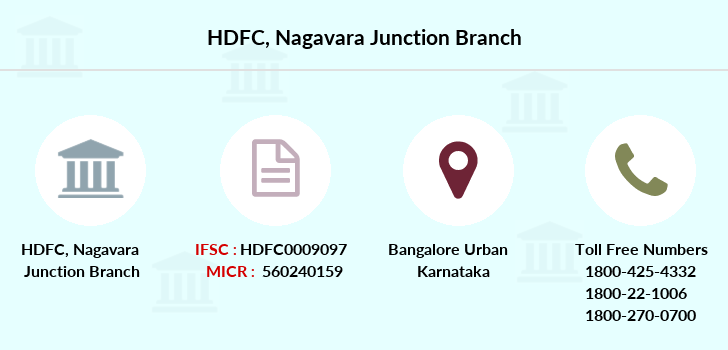 Hdfc-bank Nagavara-junction branch