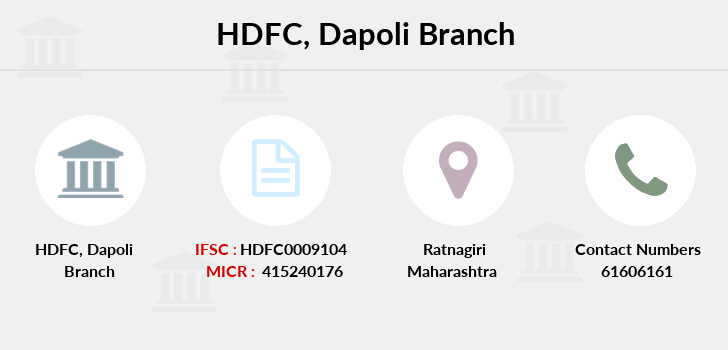 Hdfc-bank Dapoli branch