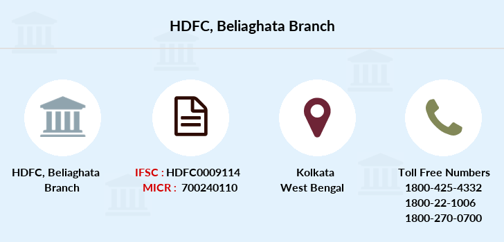 Hdfc-bank Beliaghata branch