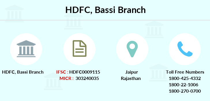 Hdfc-bank Bassi branch