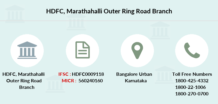 Hdfc-bank Marathahalli-outer-ring-road branch