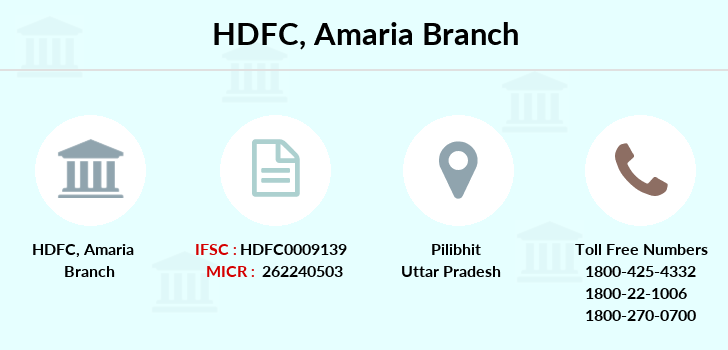 Hdfc-bank Amaria branch