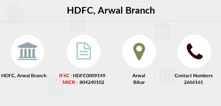 Hdfc-bank Arwal branch