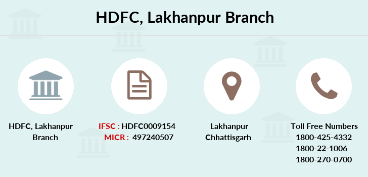 Hdfc-bank Lakhanpur branch
