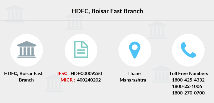 Hdfc-bank Boisar-east branch