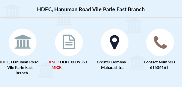 Hdfc-bank Hanuman-road-vile-parle-east branch