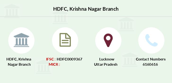 Hdfc-bank Krishna-nagar branch