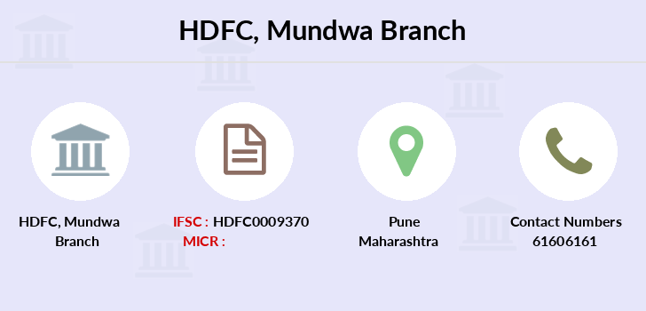 Hdfc-bank Mundwa branch