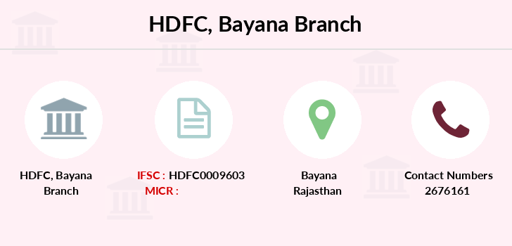 Hdfc-bank Bayana branch