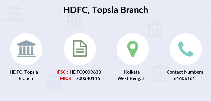 Hdfc-bank Topsia branch