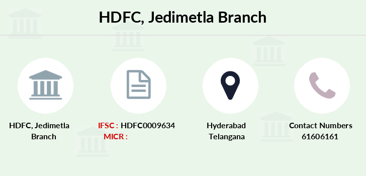 Hdfc-bank Jedimetla branch