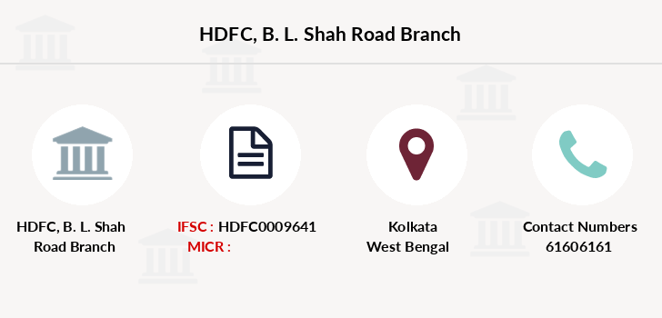 Hdfc-bank B-l-shah-road branch
