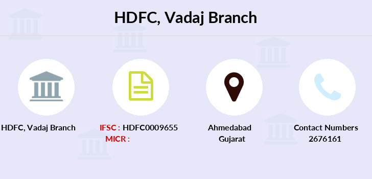 Hdfc-bank Vadaj branch