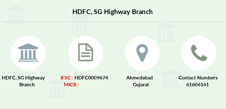 Hdfc-bank Sg-highway branch