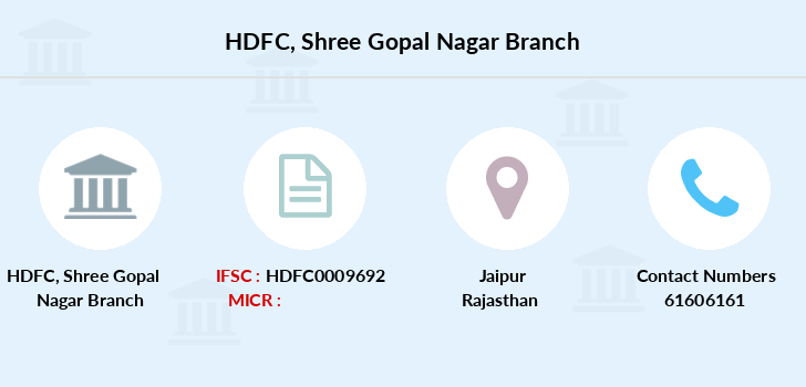 Hdfc-bank Shree-gopal-nagar branch