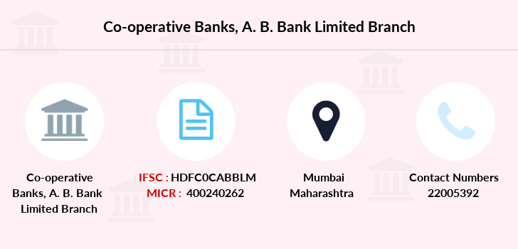 Co-operative-banks A-b-bank-limited branch