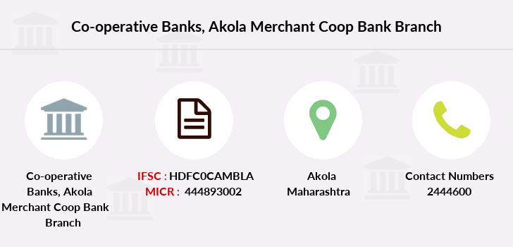 Co-operative-banks Akola-merchant-coop-bank branch