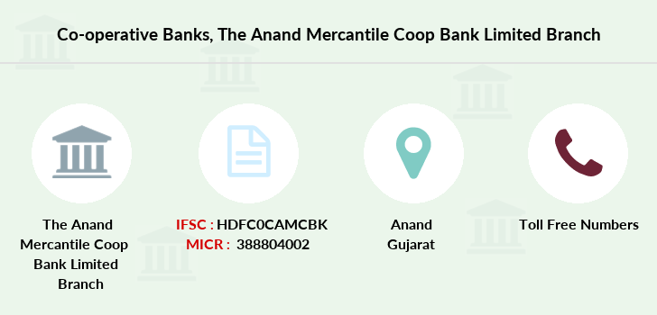Co-operative-banks The-anand-mercantile-coop-bank-limited branch