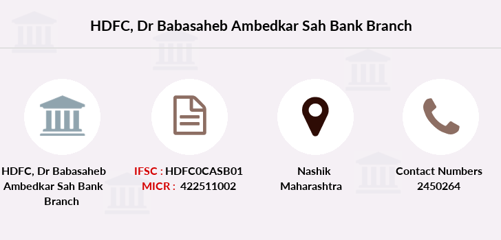 Hdfc-bank Dr-babasaheb-ambedkar-sah-bank branch