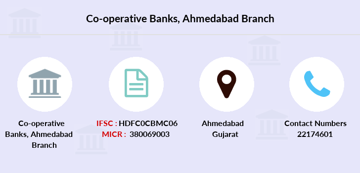 Co-operative-banks Ahmedabad branch