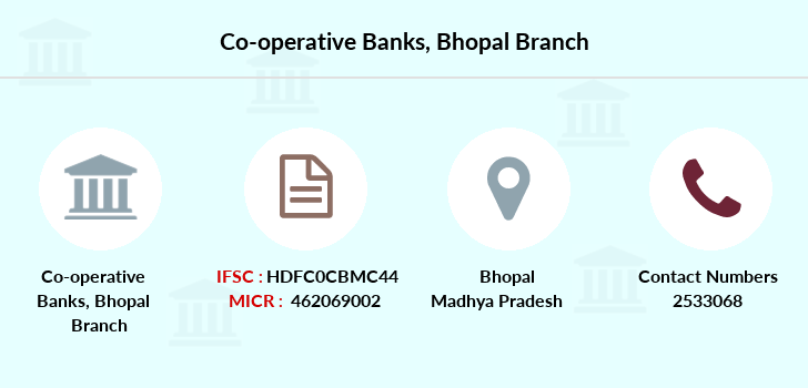 Co-operative-banks Bhopal branch