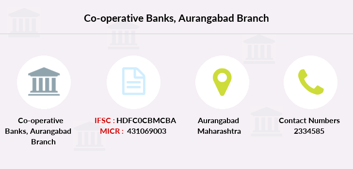 Co-operative-banks Aurangabad branch