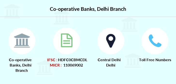 Co-operative-banks Delhi branch