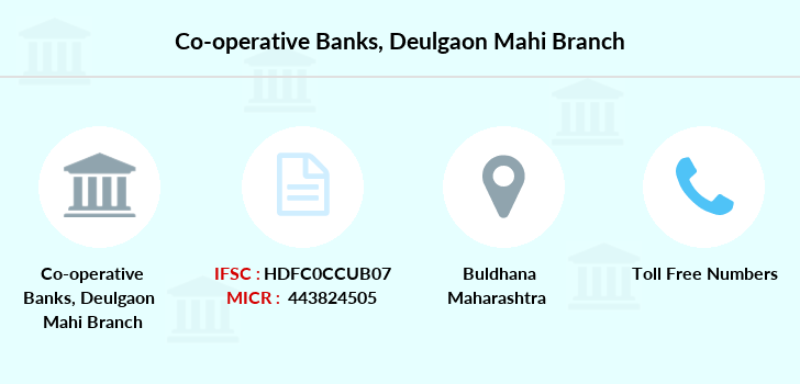Co-operative-banks Deulgaon-mahi branch
