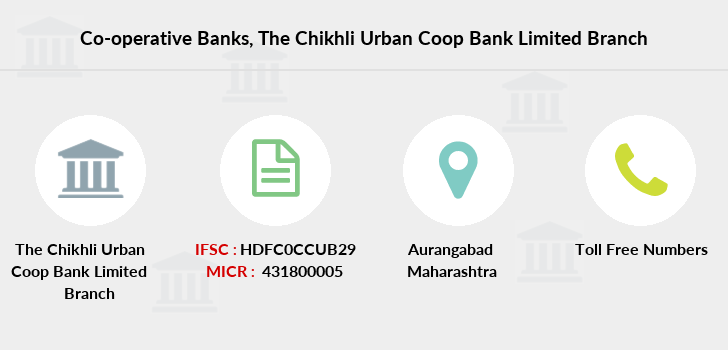 Co-operative-banks The-chikhli-urban-coop-bank-limited branch