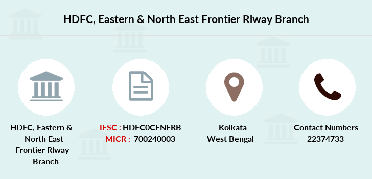 Hdfc-bank Eastern-north-east-frontier-rlway branch